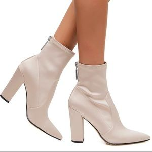 Dolce Vita Shoes - Dolce Vita Rose Satin Elana Sock Boots